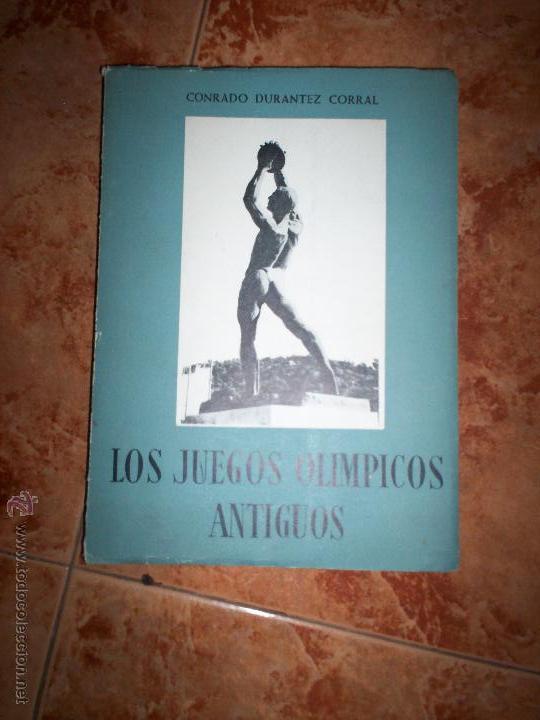 LOS JUEGOS OLIMPICOS ANTIGUOS (Coleccionismo Deportivo - Libros de Fútbol)