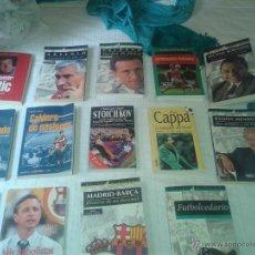 Coleccionismo deportivo: LIBROS GENTE DE FUTBOL : LOTE DE 14 LIBROS INTERESANTES. Lote 52373272