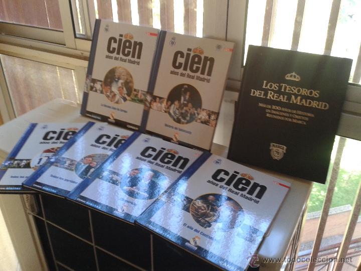 Coleccionismo deportivo: REAL MADRID DIARIO AS COLECCION 11 LIBROS - ORIGENES HISTORIA DEL CONJUNTO BLANCO - Foto 2 - 52374221