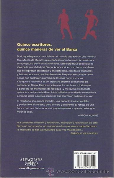 Coleccionismo deportivo: CUANDO NUNCA PERDÍAMOS 15 MIRADAS SOBRE EL BARÇA ANTONIO MUNNE - Foto 2 - 52384021