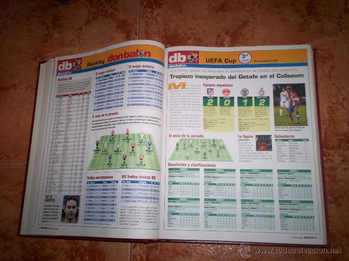 Coleccionismo deportivo: Don Balon Todo estadistica de estas 2 temporadas 03-04 y 07-08 - Foto 3 - 52625391