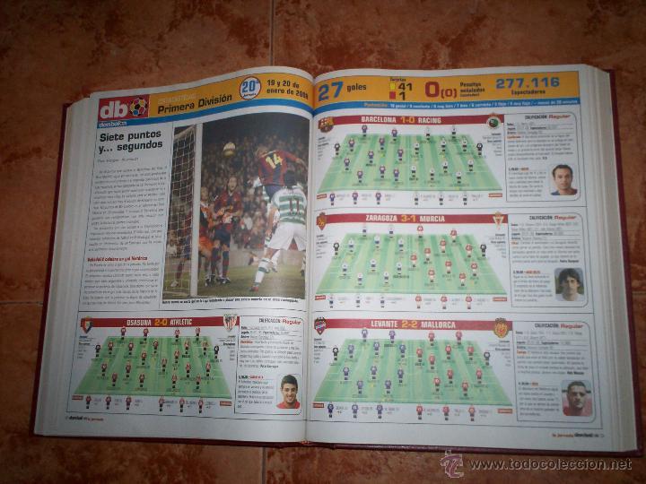 Coleccionismo deportivo: Don Balon Todo estadistica de estas 2 temporadas 03-04 y 07-08 - Foto 4 - 52625391