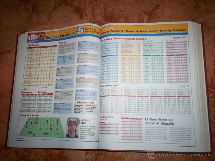 Coleccionismo deportivo: Don Balon Todo estadistica de estas 2 temporadas 03-04 y 07-08 - Foto 5 - 52625391