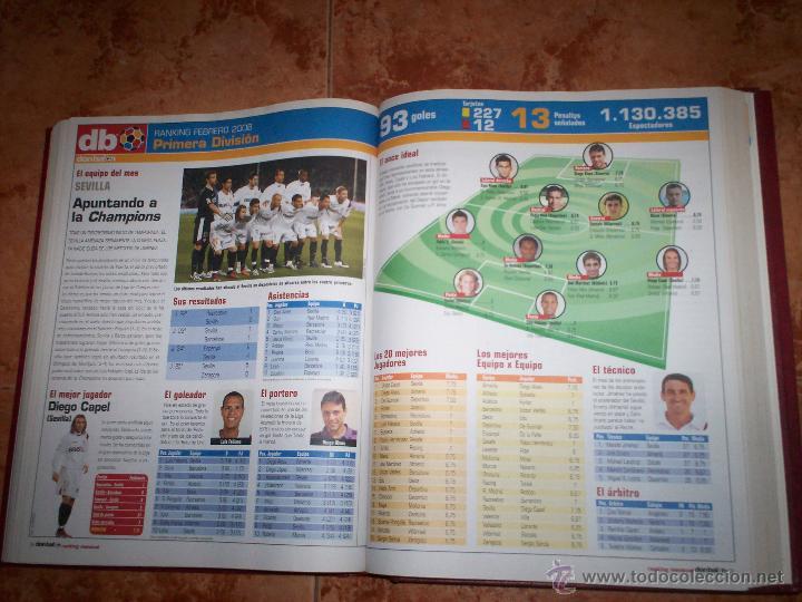 Coleccionismo deportivo: Don Balon Todo estadistica de estas 2 temporadas 03-04 y 07-08 - Foto 7 - 52625391