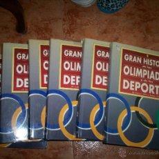 Coleccionismo deportivo: GRAN HISTORIA DE LAS OLIMPIADAS Y LOS DEPORTES. Lote 52625553