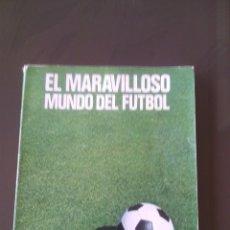 Coleccionismo deportivo: EL MARAVILLOSO MUNDO DEL FUTBOL-210 PAGINAS.EDITORIAL COSMOS.AÑO 1976. Lote 52668545