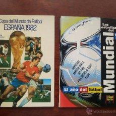 Coleccionismo deportivo: COPA DEL MUNDO DE FUTBOL ESPAÑA 1982 +LIBRO DE LAS ESTRELLAS MUNDAL DE FUTBOL 1998. Lote 52909703