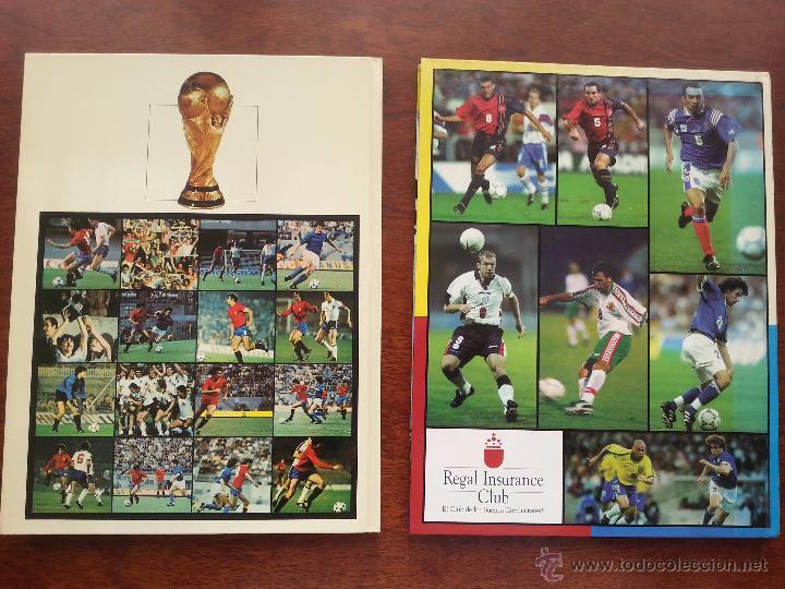 Coleccionismo deportivo: COPA DEL MUNDO DE FUTBOL ESPAÑA 1982 +LIBRO DE LAS ESTRELLAS MUNDAL DE FUTBOL 1998 - Foto 2 - 52909703