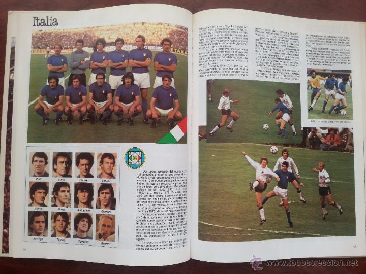 Coleccionismo deportivo: COPA DEL MUNDO DE FUTBOL ESPAÑA 1982 +LIBRO DE LAS ESTRELLAS MUNDAL DE FUTBOL 1998 - Foto 4 - 52909703