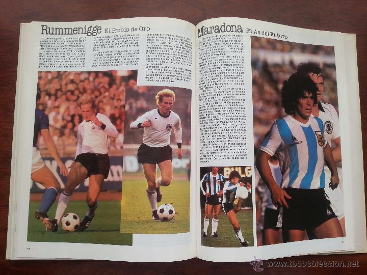 Coleccionismo deportivo: COPA DEL MUNDO DE FUTBOL ESPAÑA 1982 +LIBRO DE LAS ESTRELLAS MUNDAL DE FUTBOL 1998 - Foto 7 - 52909703