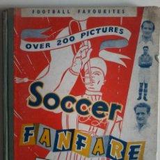Coleccionismo deportivo: ANUARIO DE FUTBOL INGLES DE 1952. Lote 53034977