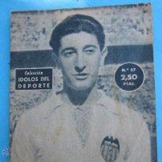 Collezionismo sportivo: IDOLOS DEL DEPORTE 1959, NUMERO 37 - QUINCOCES , VALENCIA. Lote 53153807