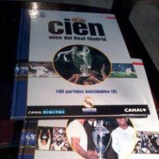 Coleccionismo deportivo: CIEN AÑOS DE REAL MADRID. CIEN MEJORES PARTIDOS Y 100 PARTIDOS INOLVIDABLES. VOL 4 Y 5. EST20B1. Lote 53195278