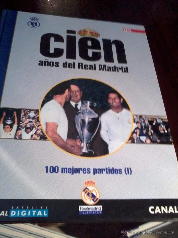 Coleccionismo deportivo: CIEN AÑOS DE REAL MADRID. CIEN MEJORES PARTIDOS Y 100 PARTIDOS INOLVIDABLES. VOL 4 Y 5. EST20B1 - Foto 2 - 53195278