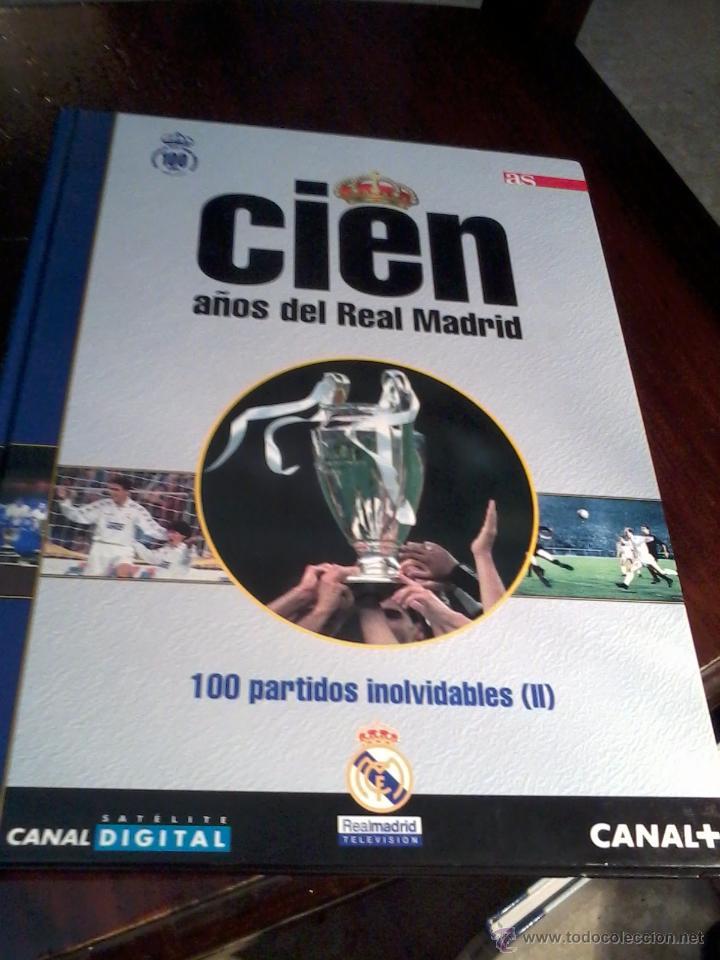 Coleccionismo deportivo: CIEN AÑOS DE REAL MADRID. CIEN MEJORES PARTIDOS Y 100 PARTIDOS INOLVIDABLES. VOL 4 Y 5. EST20B1 - Foto 3 - 53195278