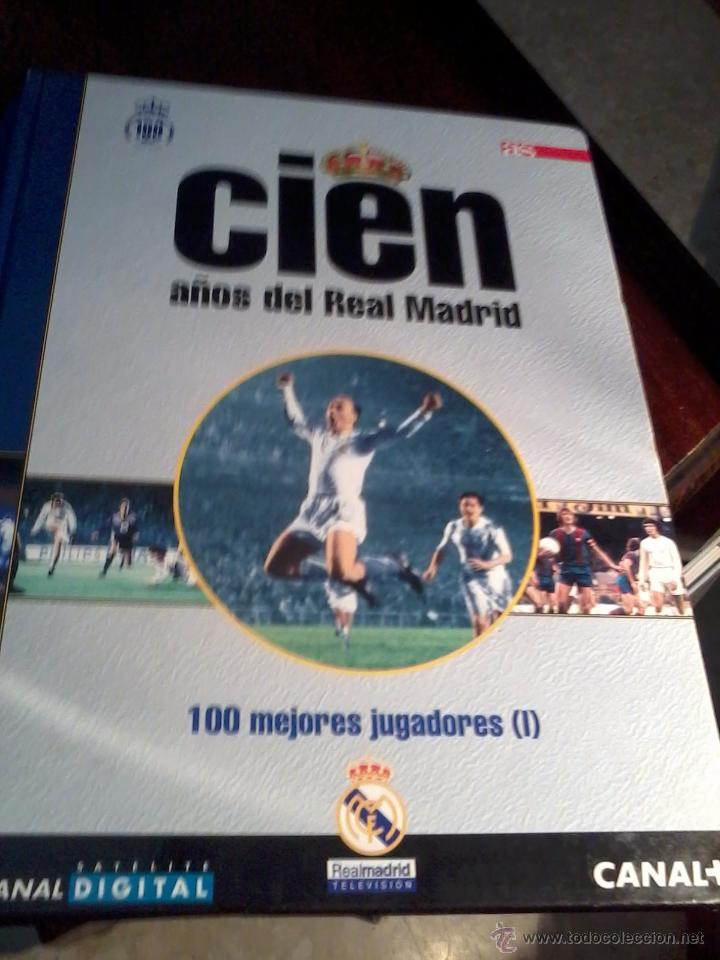 Coleccionismo deportivo: CIEN AÑOS DEL REAL MADRID. 100 MEJORES JUGADORES VOL 1.2.3. COMPLETO. EST20B1 - Foto 2 - 53195360