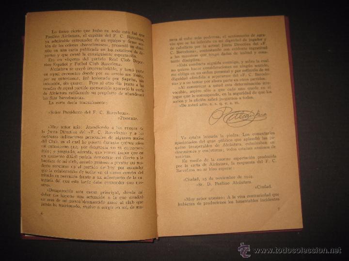 Coleccionismo deportivo: ALCANTARA Y LOS CAMPEONES DE CATALUÑA - ENCUADERNADO - VER FOTOS - MUCHAS IMAGENES - Foto 3 - 53244516