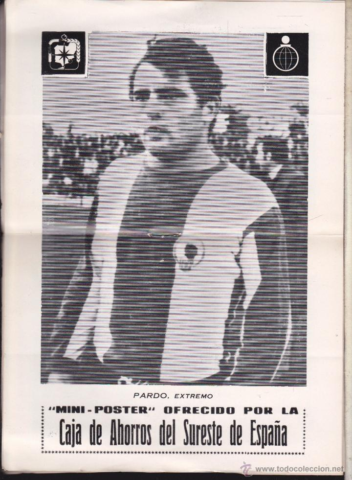 Coleccionismo deportivo: ALICANTE - HERCULES C.F. PUBLICACION INFORMATIVA , HERCULES C. F. - R. VALLADOLID - Foto 2 - 53301016