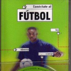 Coleccionismo deportivo: LIBRO + DVD CONECTATE AL FUTBOL. ED. S.M. SABER. Lote 53448756
