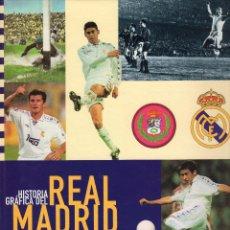 Coleccionismo deportivo: 1 LIBRO ALBUM CROMOS AÑO 1997 - HISTORIA GRAFICA DEL REAL MADRID ( TAPA DURA EDITADO POR AS ). Lote 53470244