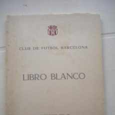 Coleccionismo deportivo: CLUB DE FUTBOL BARCELONA, LIBRO BLANCO EJERCICIO 1959-1960.. Lote 53726619