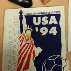 Coleccionismo deportivo: MUNDIAL USA 94.COLECCION COMPLETA FASCÍCULOS SUR EL SEMANAL. Lote 119912684