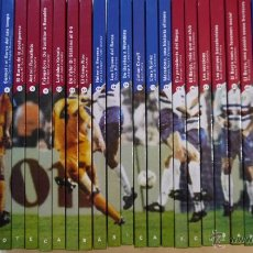 Coleccionismo deportivo: LA COL.LECCIÓ DEL CENTENARI 1989-1999. BIBLIOTECA BASICA DEL F.C. BARCELONA 30 TOMOS - BARCANOVA. Lote 53736063