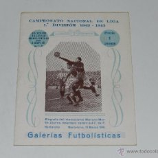 Coleccionismo deportivo: LIBRO - FC BARCELONA BIOGRAFIA DE MARIANO MARTIN 1943 - COLECCION GALERIAS FUTBOLISTICAS NUM 2. Lote 53747544