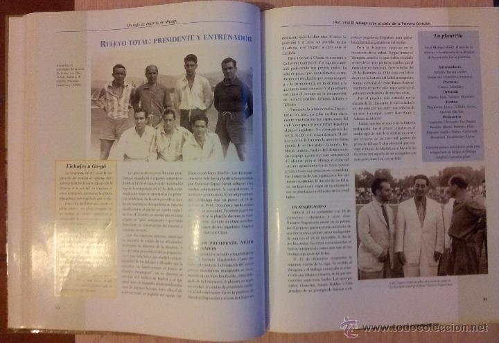 Coleccionismo deportivo: UN SIGLO DE DEPORTE EN MALAGA - MANUEL CASTILLO Y JUAN CORTES - PERIODICO EL SUR - ENCUADERNADO - Foto 6 - 53930451
