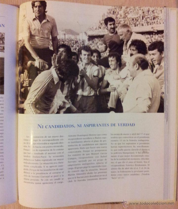 Coleccionismo deportivo: UN SIGLO DE DEPORTE EN MALAGA - MANUEL CASTILLO Y JUAN CORTES - PERIODICO EL SUR - ENCUADERNADO - Foto 7 - 53930451