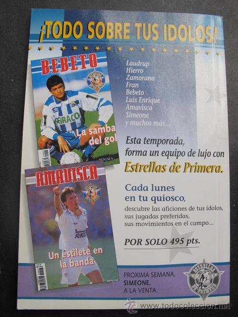 Coleccionismo deportivo: Libro Caminero La Batuta Atletico de madrid futbol año 1995 - Foto 2 - 54073786