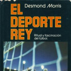 Coleccionismo deportivo: EL DEPORTE REY. RITUAL Y FASCINACIÓN DEL FÚTBOL Y UN LIBRO SORPRESA DE REGALO. Lote 54155121