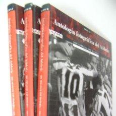 Coleccionismo deportivo: ANTOLOGIA FOTOGRAFICA DEL ATHLETIC,TOMO I,II Y III,MANU CECILIO,2001,EL CORREO ED,REF GF A3. Lote 58230504
