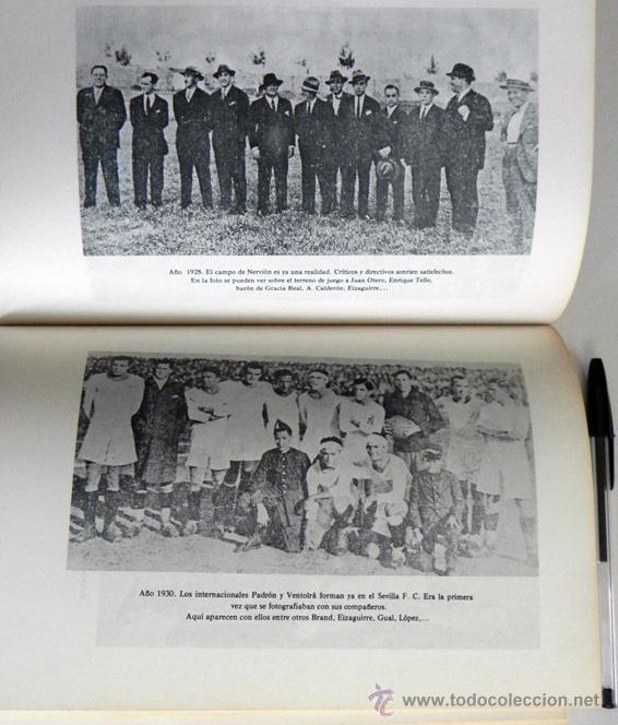 Coleccionismo deportivo: SEVILLA FC 75 AÑOS DE HISTORIA 1905 1980 LIBRO MUCHAS FOTOS DATOS FÚTBOL CLUB SEVILLISMO DEPORTE SFC - Foto 4 - 54316079