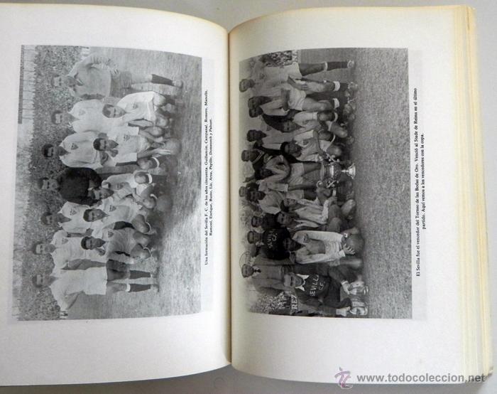 Coleccionismo deportivo: SEVILLA FC 75 AÑOS DE HISTORIA 1905 1980 LIBRO MUCHAS FOTOS DATOS FÚTBOL CLUB SEVILLISMO DEPORTE SFC - Foto 6 - 54316079