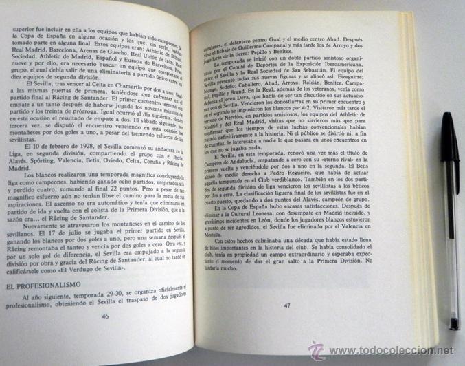 Coleccionismo deportivo: SEVILLA FC 75 AÑOS DE HISTORIA 1905 1980 LIBRO MUCHAS FOTOS DATOS FÚTBOL CLUB SEVILLISMO DEPORTE SFC - Foto 8 - 54316079