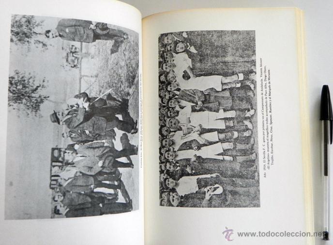 Coleccionismo deportivo: SEVILLA FC 75 AÑOS DE HISTORIA 1905 1980 LIBRO MUCHAS FOTOS DATOS FÚTBOL CLUB SEVILLISMO DEPORTE SFC - Foto 9 - 54316079