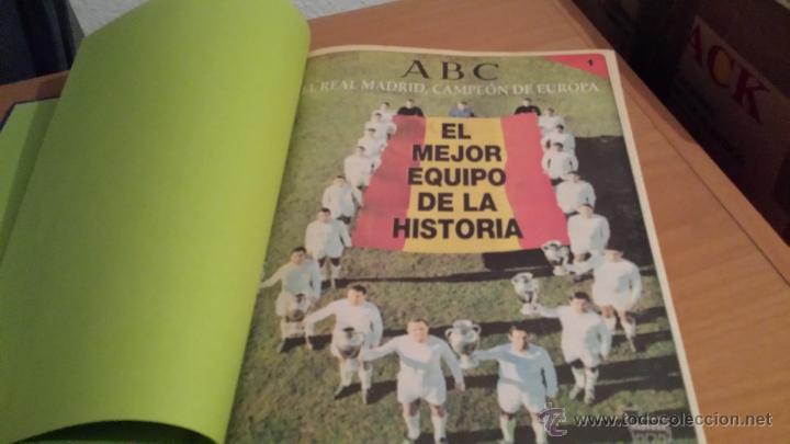 Coleccionismo deportivo: LIBRO COLECCIÓN REAL MADRID CAMPEÓN DE EUROPA PERIÓDICO ABC - Foto 3 - 54561053