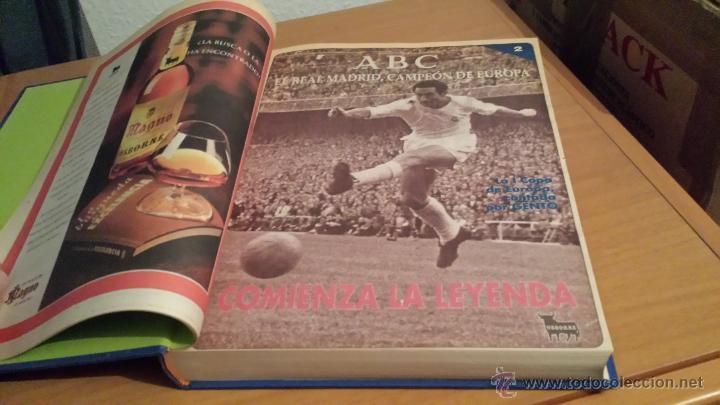 Coleccionismo deportivo: LIBRO COLECCIÓN REAL MADRID CAMPEÓN DE EUROPA PERIÓDICO ABC - Foto 4 - 54561053