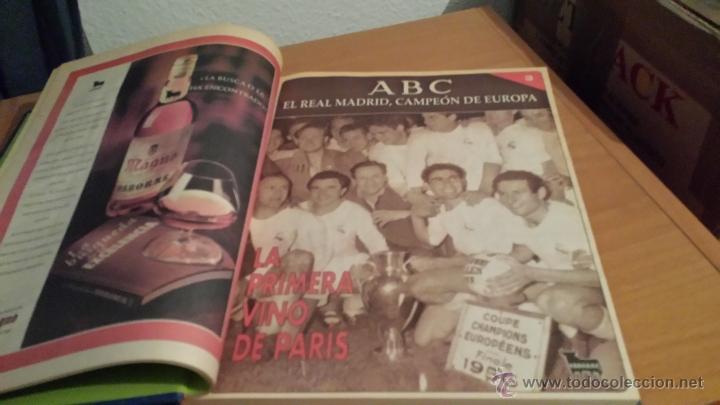 Coleccionismo deportivo: LIBRO COLECCIÓN REAL MADRID CAMPEÓN DE EUROPA PERIÓDICO ABC - Foto 5 - 54561053