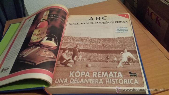 Coleccionismo deportivo: LIBRO COLECCIÓN REAL MADRID CAMPEÓN DE EUROPA PERIÓDICO ABC - Foto 6 - 54561053