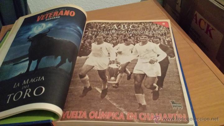 Coleccionismo deportivo: LIBRO COLECCIÓN REAL MADRID CAMPEÓN DE EUROPA PERIÓDICO ABC - Foto 7 - 54561053