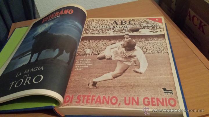 Coleccionismo deportivo: LIBRO COLECCIÓN REAL MADRID CAMPEÓN DE EUROPA PERIÓDICO ABC - Foto 8 - 54561053