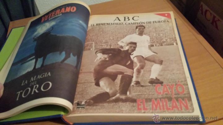 Coleccionismo deportivo: LIBRO COLECCIÓN REAL MADRID CAMPEÓN DE EUROPA PERIÓDICO ABC - Foto 9 - 54561053