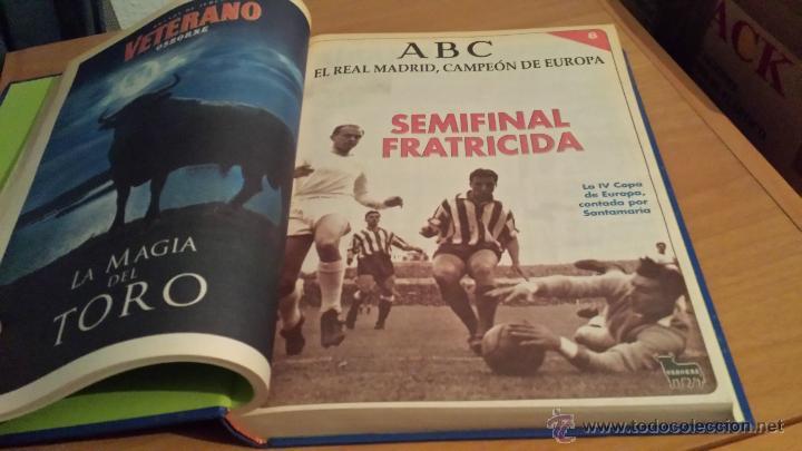 Coleccionismo deportivo: LIBRO COLECCIÓN REAL MADRID CAMPEÓN DE EUROPA PERIÓDICO ABC - Foto 10 - 54561053