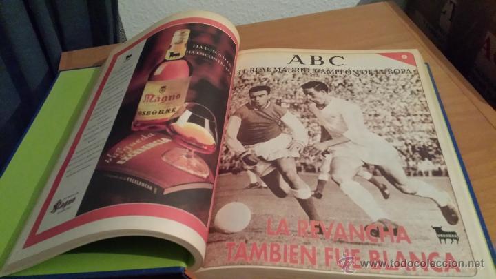 Coleccionismo deportivo: LIBRO COLECCIÓN REAL MADRID CAMPEÓN DE EUROPA PERIÓDICO ABC - Foto 11 - 54561053