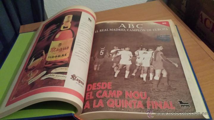 Coleccionismo deportivo: LIBRO COLECCIÓN REAL MADRID CAMPEÓN DE EUROPA PERIÓDICO ABC - Foto 12 - 54561053