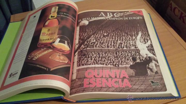 Coleccionismo deportivo: LIBRO COLECCIÓN REAL MADRID CAMPEÓN DE EUROPA PERIÓDICO ABC - Foto 13 - 54561053