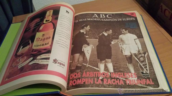 Coleccionismo deportivo: LIBRO COLECCIÓN REAL MADRID CAMPEÓN DE EUROPA PERIÓDICO ABC - Foto 14 - 54561053
