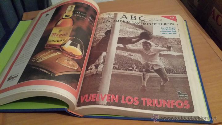 Coleccionismo deportivo: LIBRO COLECCIÓN REAL MADRID CAMPEÓN DE EUROPA PERIÓDICO ABC - Foto 15 - 54561053